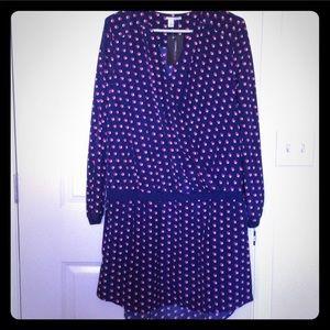 NWT Halogen Faux Wrap Dress